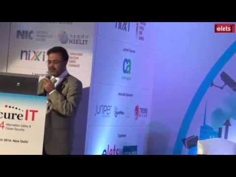 SecureIT 2014 – Sanjay Sahay, Additional Director General of Police, State Crime Record Bureau