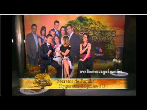 La alfombra roja de Secretos De Familia ANETTE MICHEL