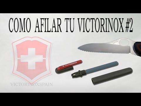 Victorinox tricks - Como afilar tu victorinox #2 - Afilar New Soldier - How to sharpen victorinox