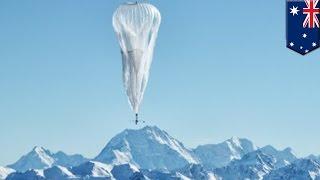 グーグル、気球でネット接続計画「ルーン」始動