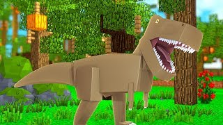 The Most ADORABLE Dino Triceratops  - Minecraft Jurassicraft Dinos Modpack Episode #8 | JeromeASF