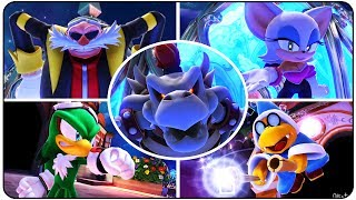 ►Mario and Sonic at the Sochi 2014 Olympic Games (Wii U)Mario & Sonic at the Olympic Games All Bosses: https://youtu.be/z1GdCSgw5_w►Playlist : https://goo.gl/HbB7It►Bosses in order :00:00 - Ice Hockey (Team Birdo)06:30 - Bullet Bill Sledge Race (Kamek)10:30 - Snowboard Parallel Giant Slalom (JET)13:25 - Short Track Speed Skating 1000m (King Boo)17:07 - Roller Coaster Bobsleigh (Omega)22:05 - Winter Sports Champion Race (Team Eggman Nega)29:00 - Ending + Credits►Twitter : http://Twitter.com/YTNintenU►Avatar Picture : http://ratchetmario.deviantart.com►Game Informations :Developers : SEGA  Nintendo SPD Group No.4Publisher : NintendoPlatform : Wii URelease date : Europe November 8, 2013Australia November 9, 2013USA November 15, 2013Japan December 5, 2013Genre : SportModes : Single player, multiplayer, online multiplayer►No Commentary Gameplay by NintenU (2017)◄