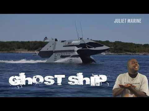 Ghost  - New Military Stealth Ship Of The Future 😮Commentary & Vid😮 (David Spates)