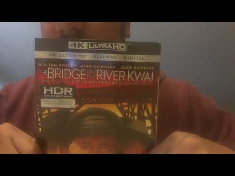The Bridge On The River Kwai 60th Anniversary 4K Ultra HD Blu-Ray Unboxing
