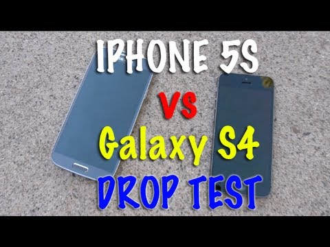 Samsung Galaxy Drop - It's finally here! The iPhone 5S vs Samsung Galaxy S4 Drop Test! FACEBOOK: https://www.facebook.com/pages/TechRax/192119757502890 TWITTER: https://twitter.co...
