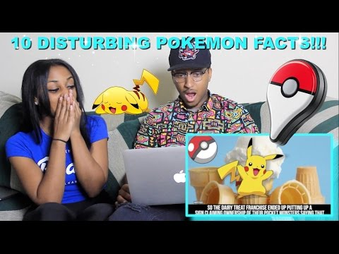 Couple Reacts : 10 DISTURBING Pokémon GO Facts That Will Shock You Reaction!!!