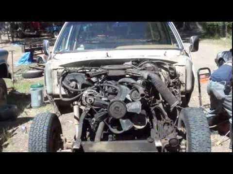 Part 3/8 1985 Dodge One Ton 4x4 Exhaust Manifold Replacement  (full version, LOL)
