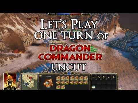 Divinity - Dragon Commander Let's Play One Turn