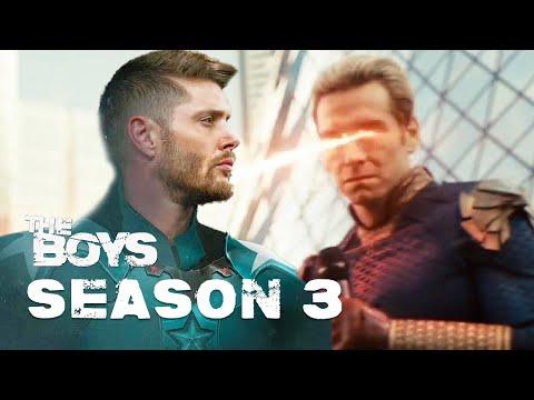 The Boys Season 3 Episode 1 Announcement - Avengers Marvel Trailer Easter Eggs