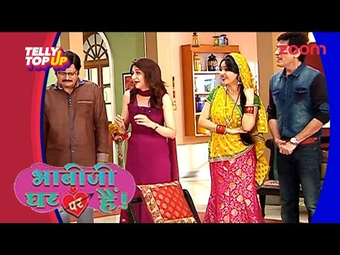 Video Why Did Anita Bhabi Slap Tiwari Ji In 'Bhabi Ji Ghar Par Hai' | #TellyTopUp download in MP3, 3GP, MP4, WEBM, AVI, FLV January 2017
