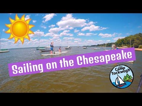 Sailing on the Chesapeake | Tockwogh Summer 2017