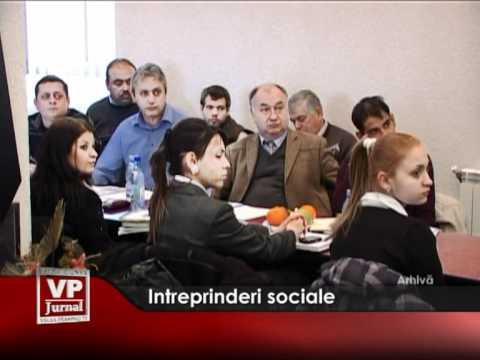 Intreprinderi sociale