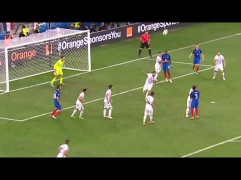 Buts France contre Albanie