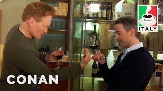 Video Conan & Jordan Schlansky's Italian Wine Tasting  - CONAN on TBS MP3, 3GP, MP4, WEBM, AVI, FLV April 2018