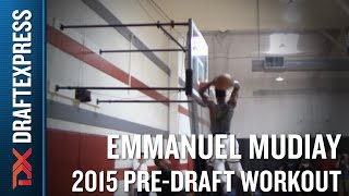 Emmanuel Mudiay 2015 NBA Draft Workout Video