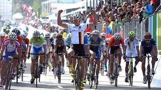 Ponferrada Spain  city photos : Junior Men's Road Race Highlights - 2014 Road World Championships, Ponferrada, Spain