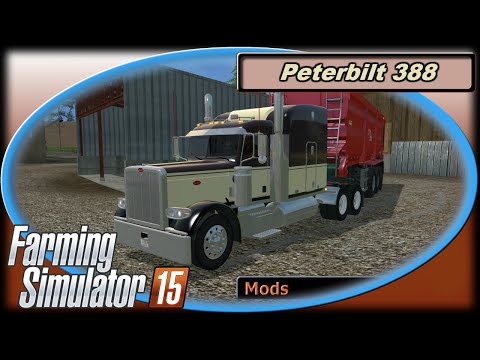 Peterbilt 388 brown/tan Aluminuim Wheels V1.0