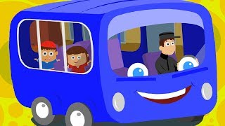 The wheels on the bus rhyme is a popular old English rhyme, that's been modified in many different versions with different vehicles. But the charm of the original song still stays the same. It's no wonder then, that kids love this kiddies rhyme to bits. The minute the bus song comes on, babies are all excited, ready to imitate the bus. With their hands they imitate the wheels that go round and round all through the town. With their palms they imitate the doors going open and shut. Toddlers jump up and down like the passengers on the bus. This nursery rhyme is a family rhyme, because watching their kids have this much fun at playtime, makes parents happy as well. Well, we're only happy to bring so much joy to everyone, through our best baby rhymes & children's songs on Youtube.KIDS FIRST - Kids Videos & Nursery Rhymes  Free App Download: http://m.onelink.me/1e8f6c16VISIT OUR OFFICIAL WEBSITE : https://www.uspstudios.co/WATCH KIDS TV VIDEOS ON OUR WEBSITE :https://www.uspstudios.co/creation/ch...============================================Music and Lyrics: Copyright USP Studios™Video: Copyright USP Studios™===========================================