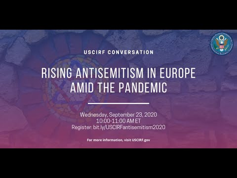 USCIRF Conversation: Rising Antisemitism in Europe Amid the Pandemic