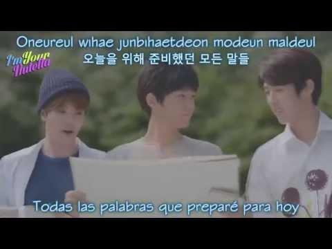 INFINITE F - Heartbeat (가슴이 뛴다) [Sub. Español + Hangul + Romanización] - High School: Love On OST