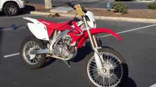 7. Contra Costa Powersports-Used 2012 Honda CRF450X 4-stroke electric start dirt motorcycle