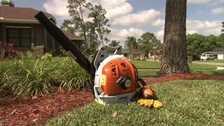 10. The BR 600 STIHL Backpack Blower