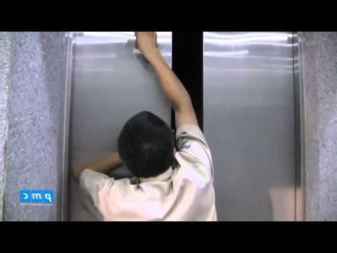 Quy trình cứu hộ thang máy khi thang bằng tầng
