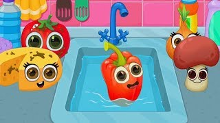 Video Play Cooking game with funny food MP3, 3GP, MP4, WEBM, AVI, FLV Juni 2019