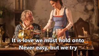 Video Beauty and the Beast 2017 - How Does a Moment Last Forever (Music Box) LYRICS MP3, 3GP, MP4, WEBM, AVI, FLV Januari 2018