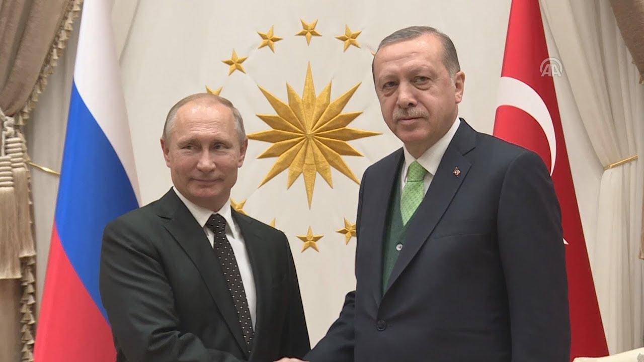 Συνάντηση Ερντογάν-Πούτιν