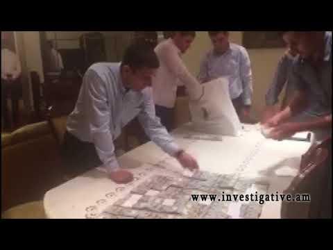 Обнаруженные при обыске 1 млн. 400 долларов США, 230.500 евро, 36 млн. драмов по решению следователя переданы Центральному банку на хранение(Видео)