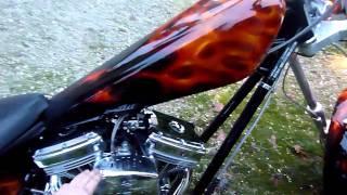 10. 2005 American Ironhorse 124ci LSC--Stock Exhaust no baffles