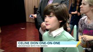One-on-One With Superstar Mom Celine Dion - ABC News - January 11, 2012