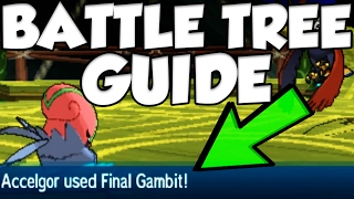 Amazing Battle Tree Strategy and Battle Tree Guide for Pokemon Sun and Moon! by Verlisify