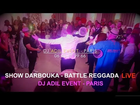 SHOW DARBOUKA - BATTLE REGGADA LIVE 1