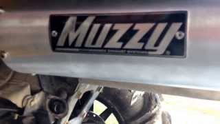7. 2013 Can am outlander 650 XMR WITH MUZZY EXHAUST & HMF OPTIMIZER