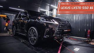 Установили компрессор на Lexus LX570