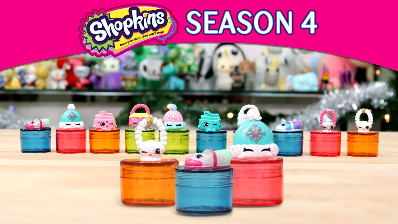 Shopkins Season 4!!