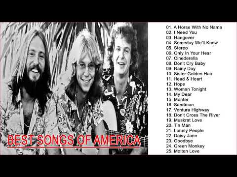 The Band America Greatest Hits - Top 20 Best Songs Of America