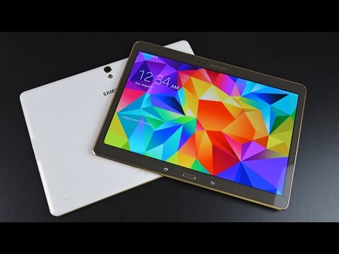 tab - Detailed unboxing and complete feature walkthrough of the Samsung Galaxy Tab S 10.5