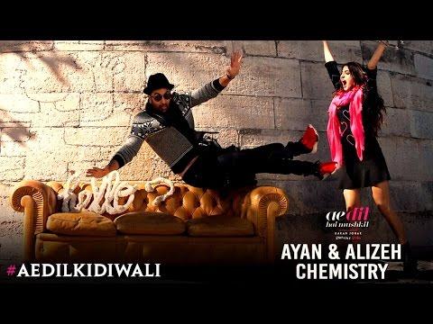 Ae Dil Hai Mushkil The chemistry of Ayan & Alizeh Karan Johar Ranbir Kapoor Anushka Sharma