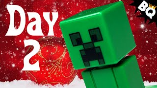 Custom LEGO Minecraft Advent Calendar Day 2 Unboxing