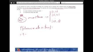 Umh2072 2013-14 Tema 2.1 Conceptos De Probabilidad. Ejercicio 5