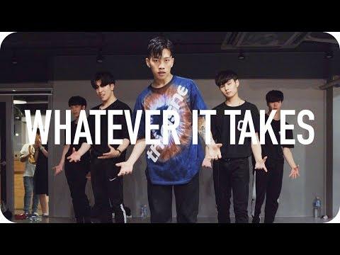 Whatever It Takes - Imagine Dragons / Jinwoo Yoon Choreography (видео)