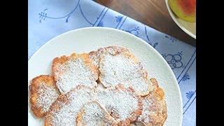 Videoricetta: frittelle di mele e cannella