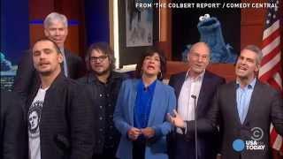'The Colbert Report' Boasts Epic Celebrity Sendoff