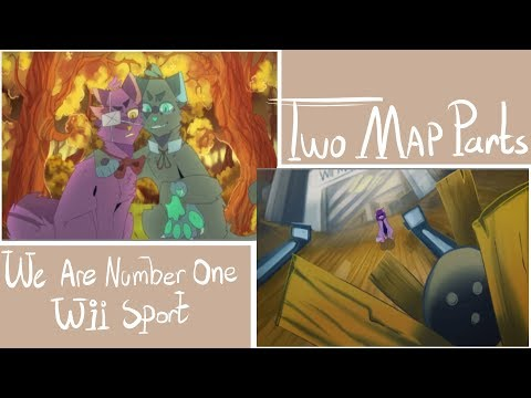 We Are Number One & Wii Sport  Map parts  (видео)