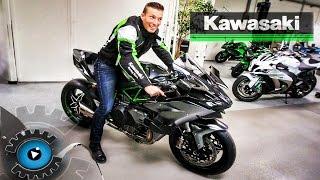DAS SCHNELLSTE MOTORRAD DER WELT? - NINJA H2R | Kawasaki Z1000R Review - Test [Deutsch/German]