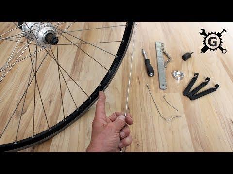 Defekte Fahrradspeiche am Laufrad (Hinterrad) wechseln - ausführlicher Workshop