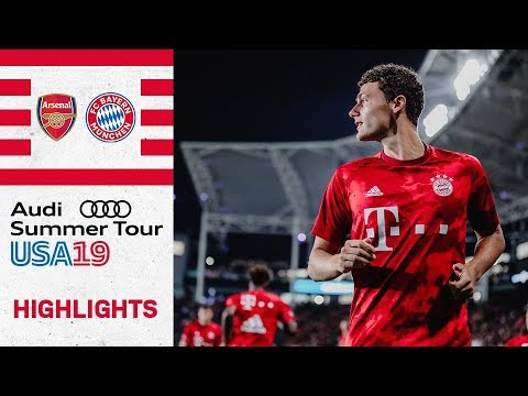 Pavard And Arp With FC Bayern Debut!  | Arsenal FC Vs. FC Bayern 2-1 | Highlights - ICC 2019